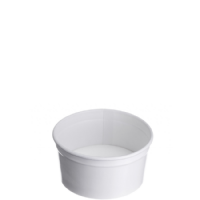 Type 102 ice cream Cup 160ml - Plain White